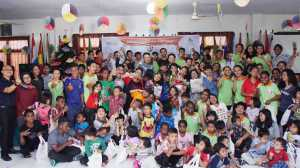 Visit to an orphanage