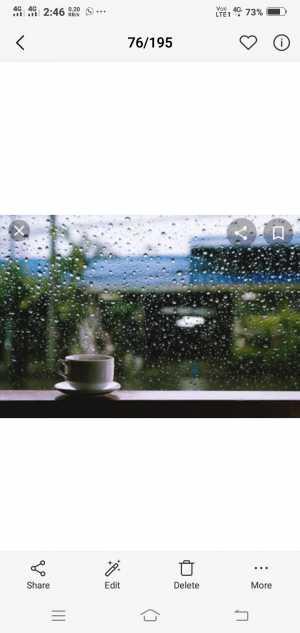 प्रत्येकाचा पाऊस वेगळा